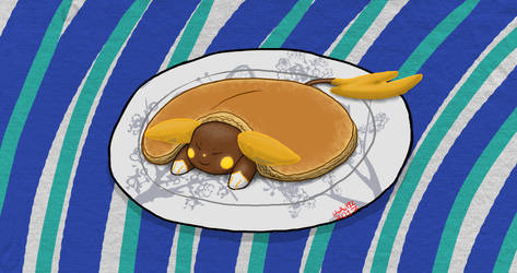 A Puka Pancake by Unoko412