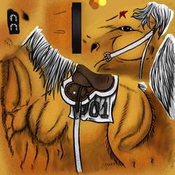 Horse SBR Silver Bullet by Unoko412