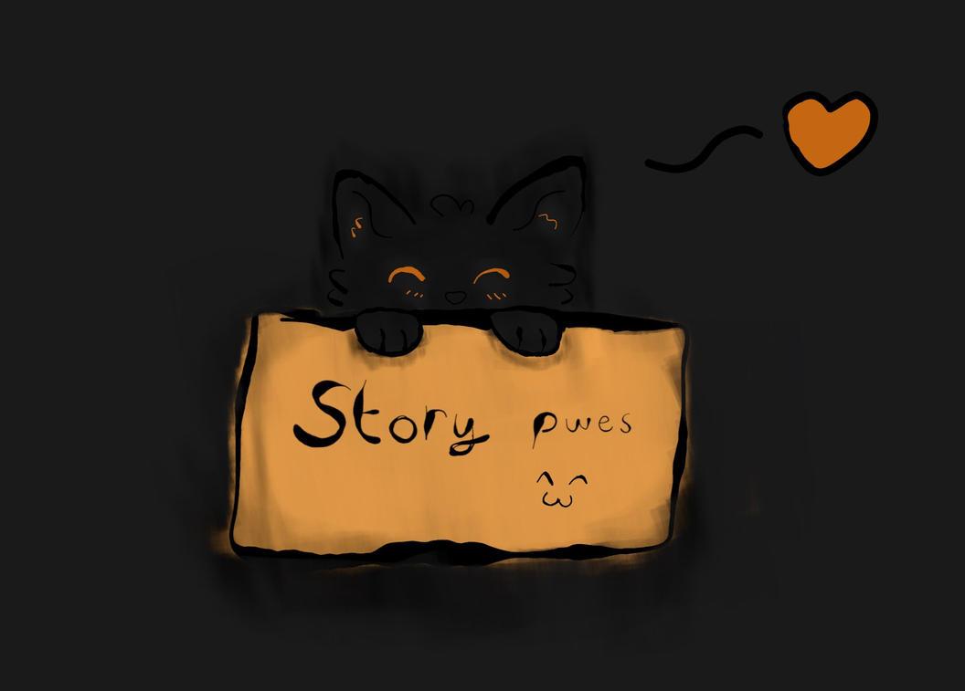 Bushy wants a story. by FNOKitty