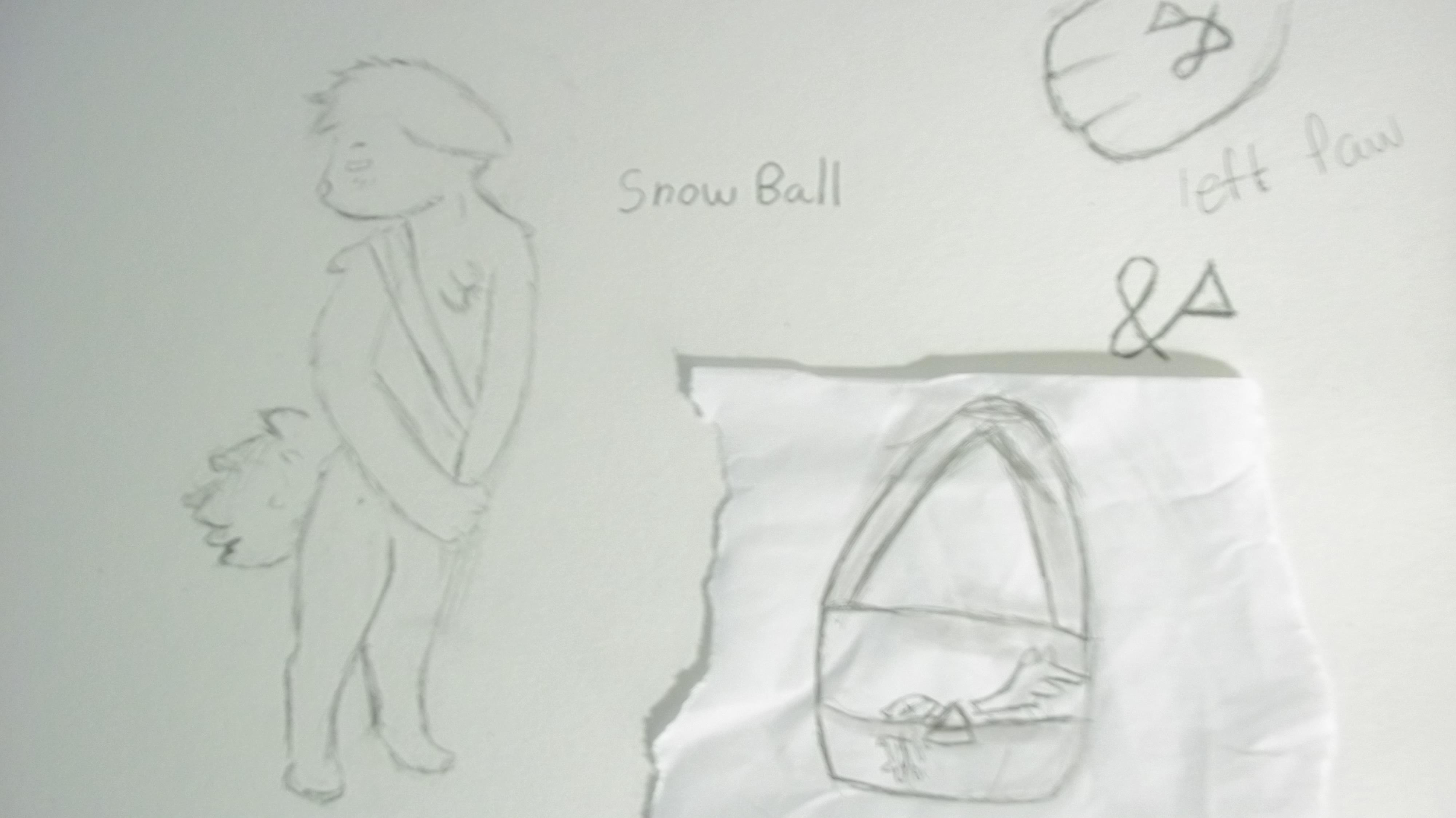 (OC) Snow Ball Ref? by FNOKitty