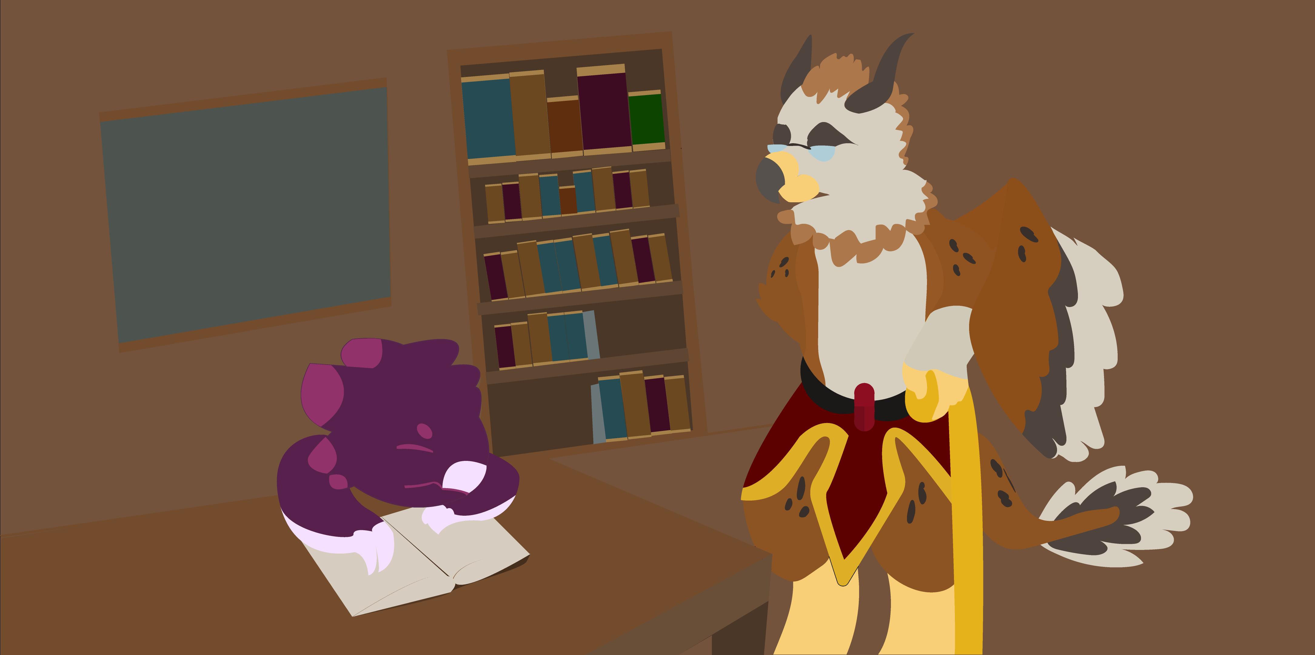 I once read my-shelf to sleep... by FNOKitty