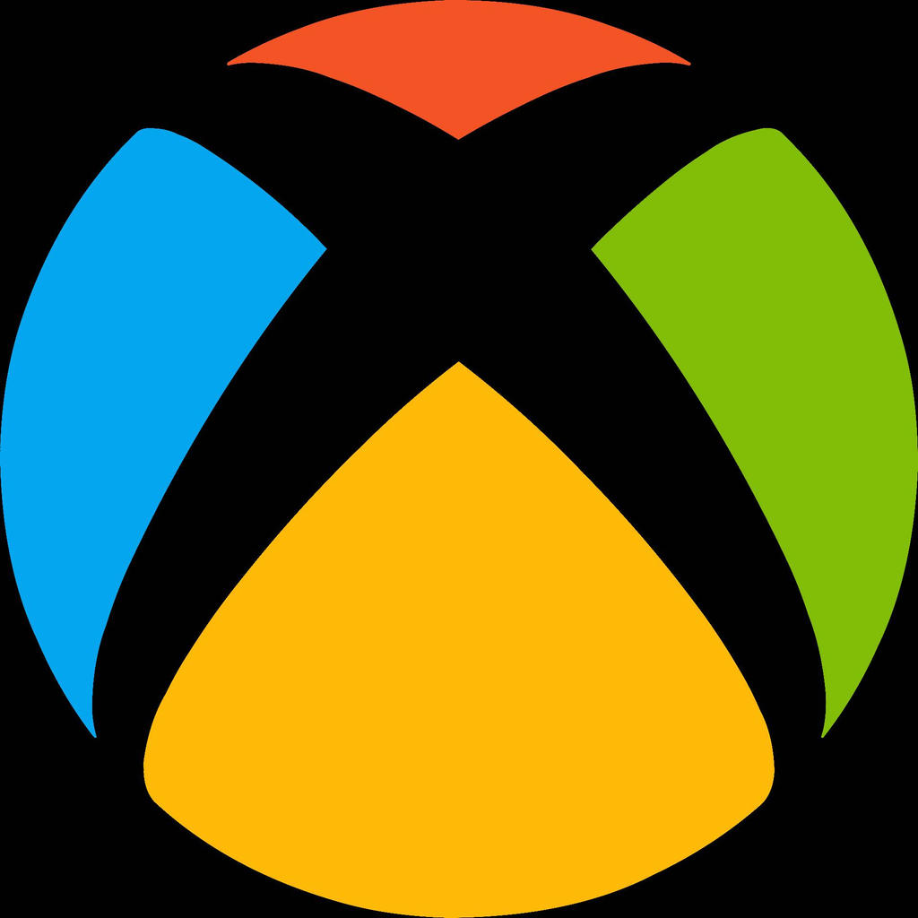 Xbox One Logo In Microsoft Colors By Red0856 On Deviantart