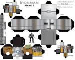Iron man cubeecraft - mark 1