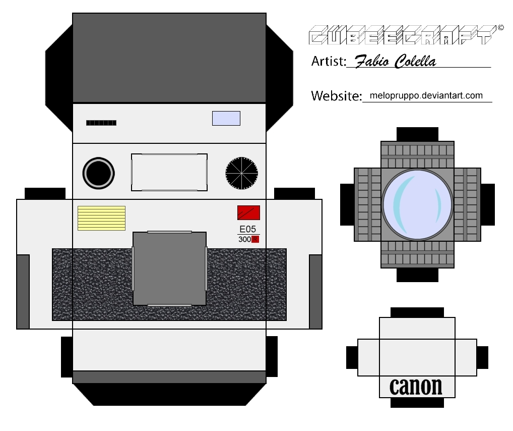 Canon Printable Paper Crafts Crafting