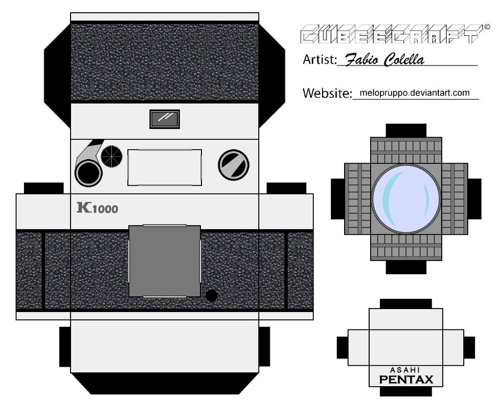 Papercraft Camera Templates Pictures to Pin on Pinterest ...