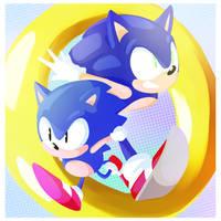 Happy Birthday Sonic! by Un-Genesis