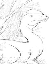 dilophosaurus by Un-Genesis