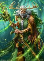 Magnus Ignis - Druid eveolved by PeterLumby