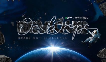 Devious Desktops Space Out Challenge Art