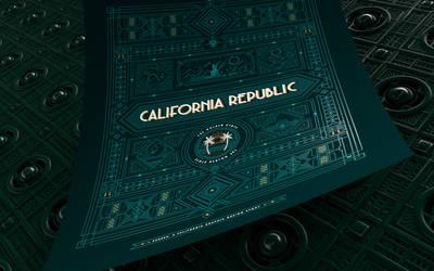 California Republic Poster 2