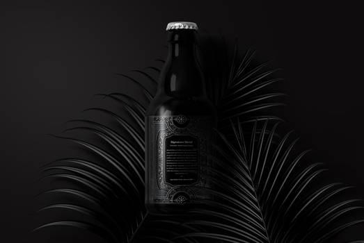 Dark Shadows Bottle (Back)