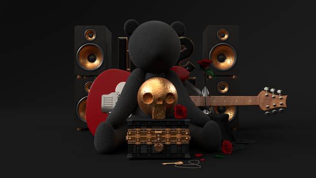 Still Life Teddy Bear