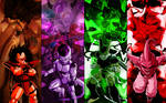 DBZ Villains by Photshopmaniac