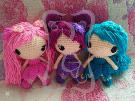 Rainbow Fairy Girls