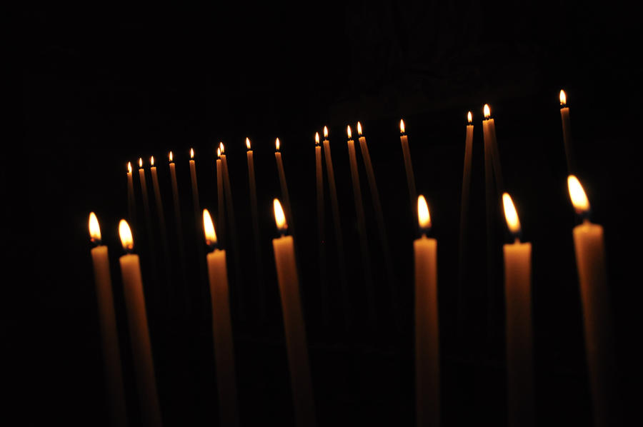 candle in the dark - photo #40