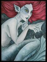 Deep Water Mermaid by Deramis