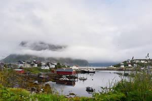 1178 Summertime in Reine Lofoten by RealMantis