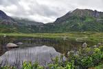 0034 Mountain lake in Lofoten