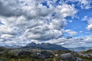 0539 Mountains of Norway by RealMantis