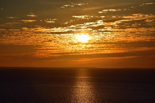 0494 Sunset in summer