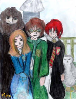 A moment In Hogwarts.