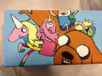Adventure Time box by SquirrelyEvil