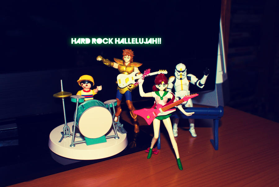 Hard rock hallelujah by indieferdie