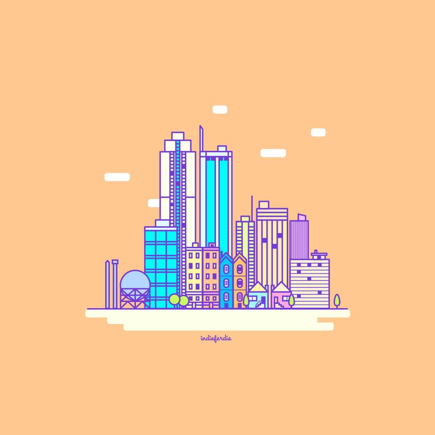 90scity by indieferdie
