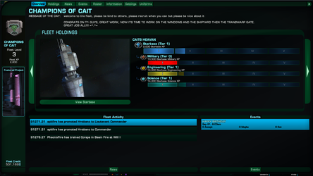 Fleet Status Report 5 by blaze214263