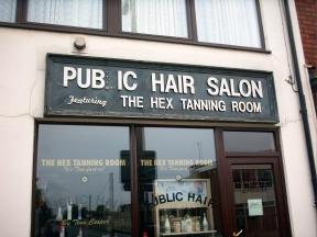 Pubic hair stylist