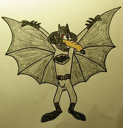 Wile E Coyote as the Batman by WildDancer101