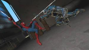 GMOD Spider-man VS Venom (Stan Lee Tribute) by WildDancer101