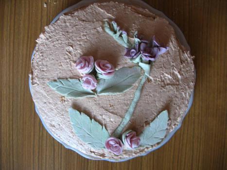 Cream cake for granny