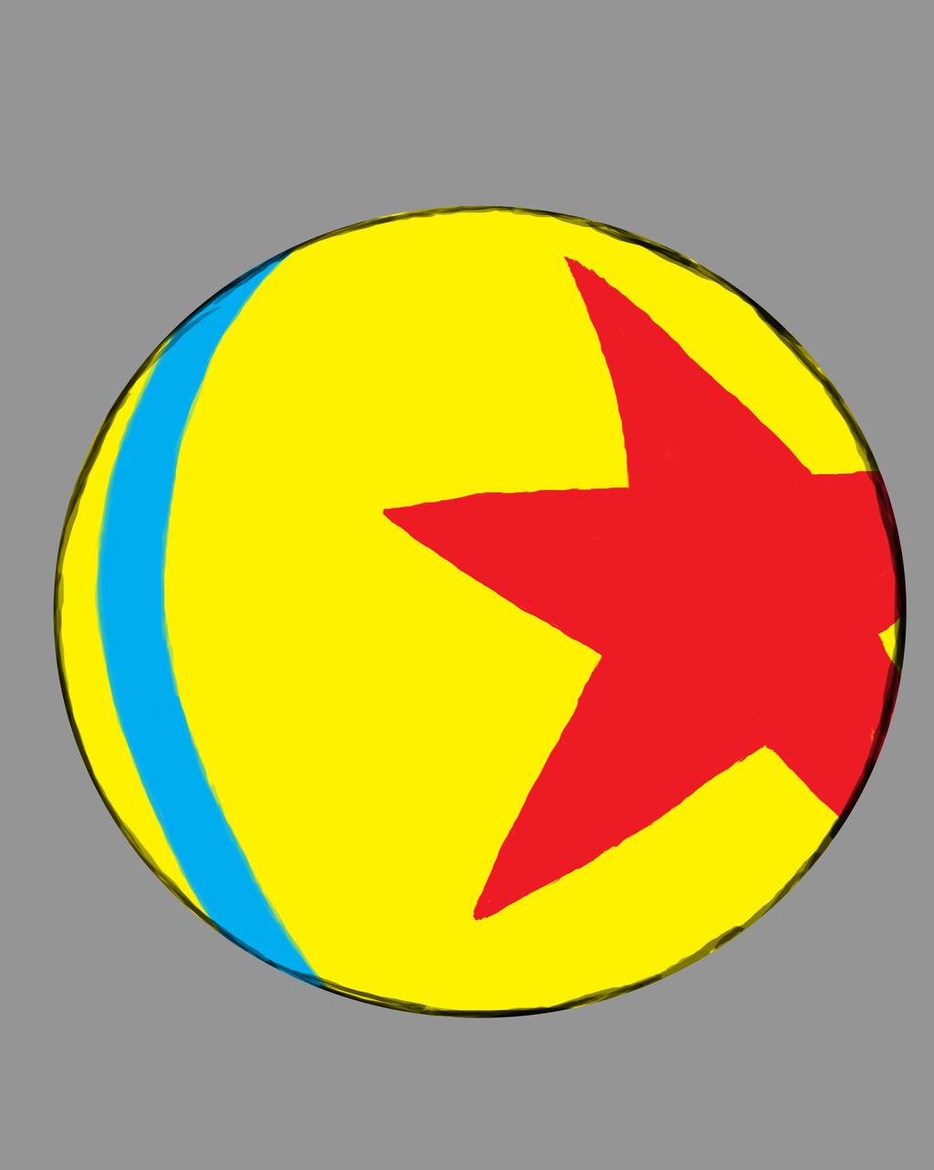 Pixar Ball Daily sketch #424 by GothicVampireFreak