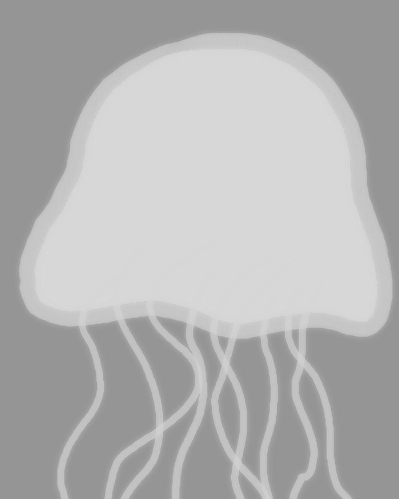 Jellyfish Daily sketch #427 by GothicVampireFreak