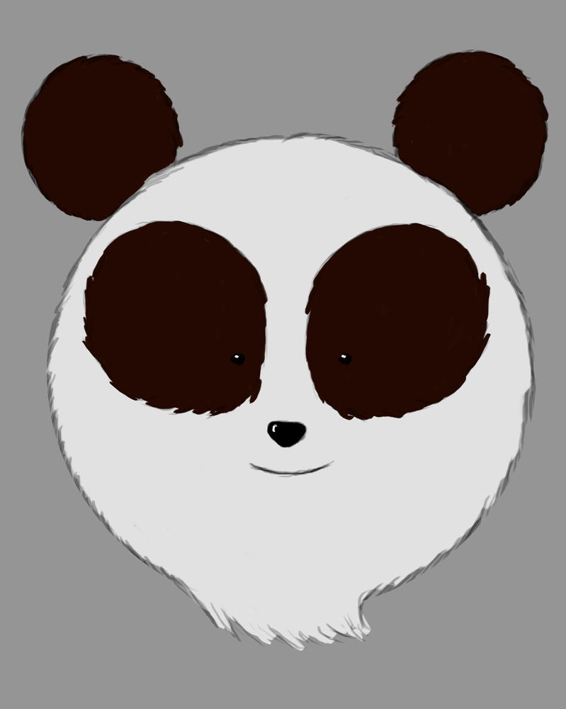 Panda Daily sketch #428 by GothicVampireFreak