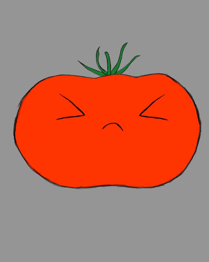 Tomato Daily sketch #456 by GothicVampireFreak