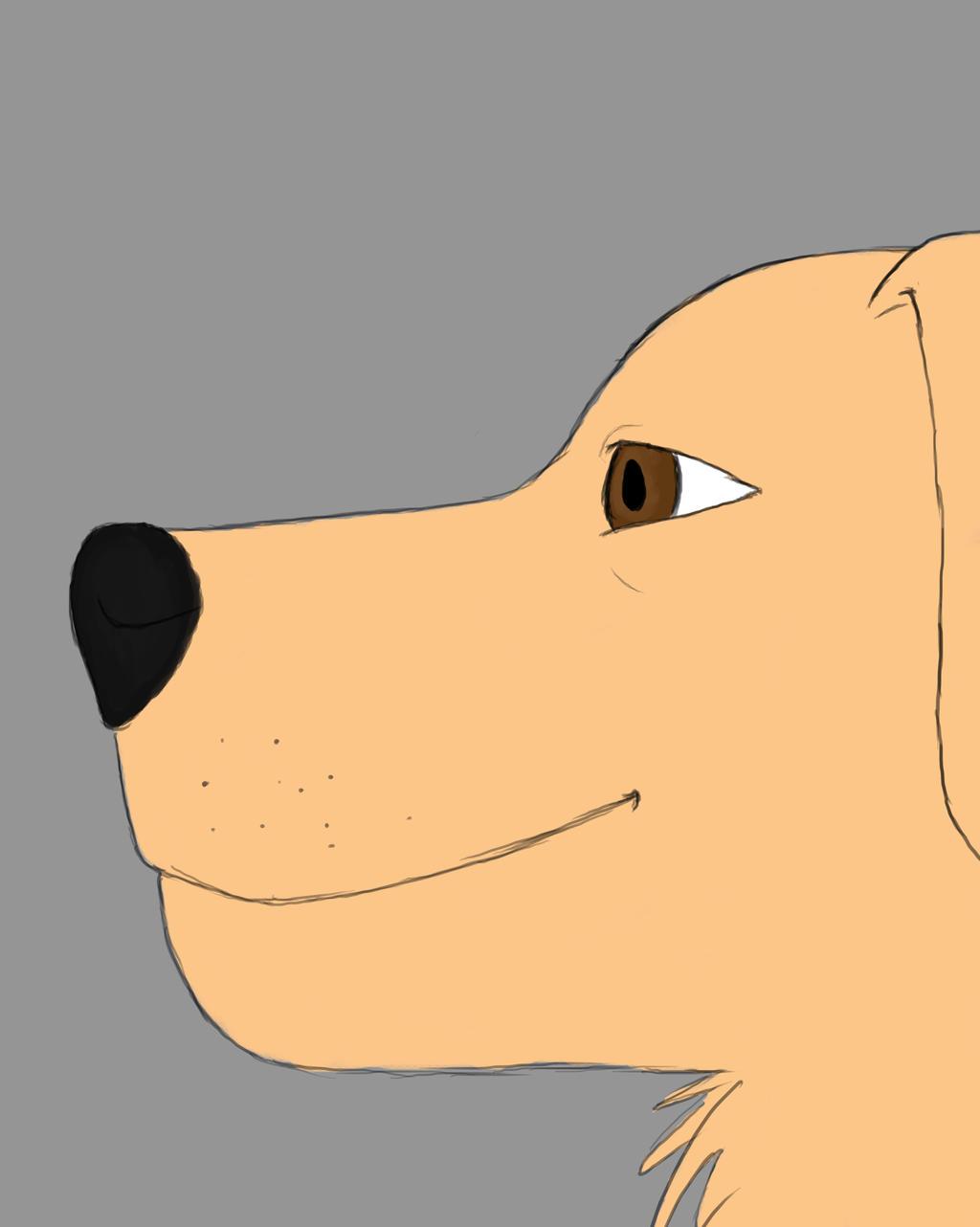 Dogg Daily sketch #474 by GothicVampireFreak