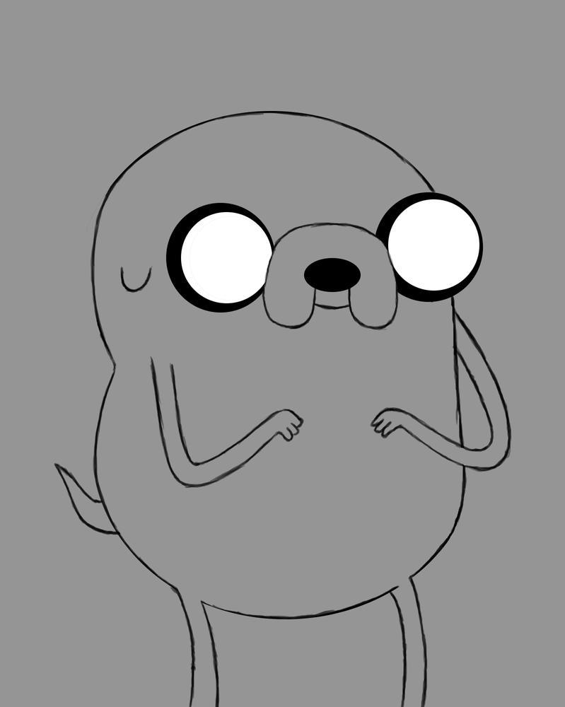 Jake Daily sketch #480 by GothicVampireFreak