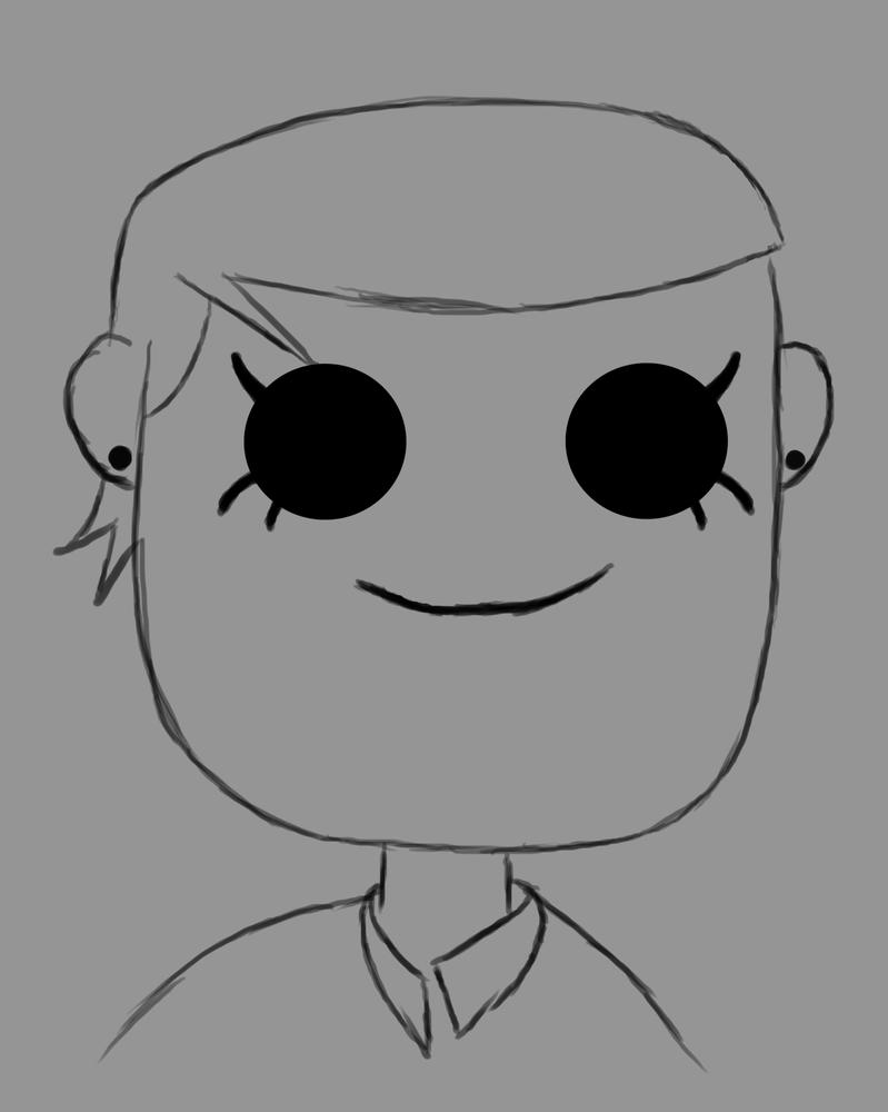 Cutie Daily sketch #482 by GothicVampireFreak