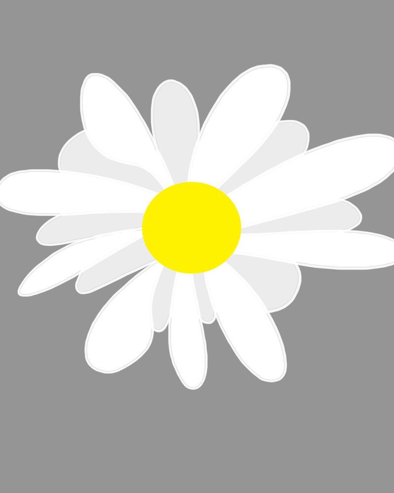 White Flower Daily sketch #494 by GothicVampireFreak