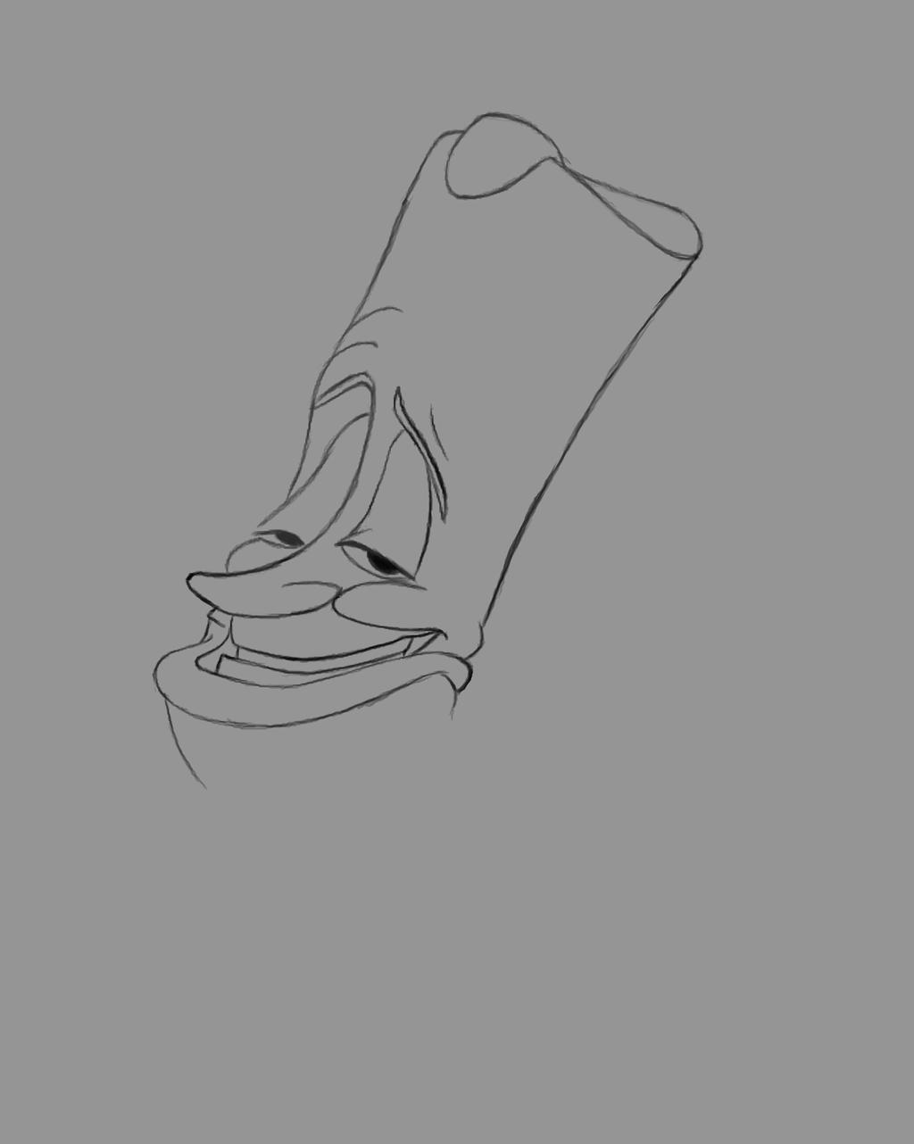 Lumiere Daily sketch #514 by GothicVampireFreak