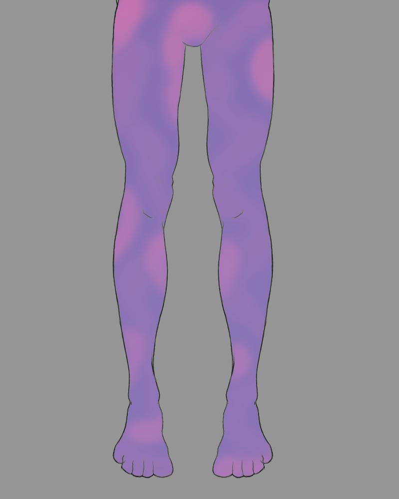 Legs Daily sketch #518 by GothicVampireFreak