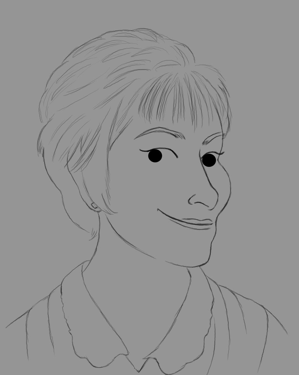 Judy Daily sketch #519 by GothicVampireFreak