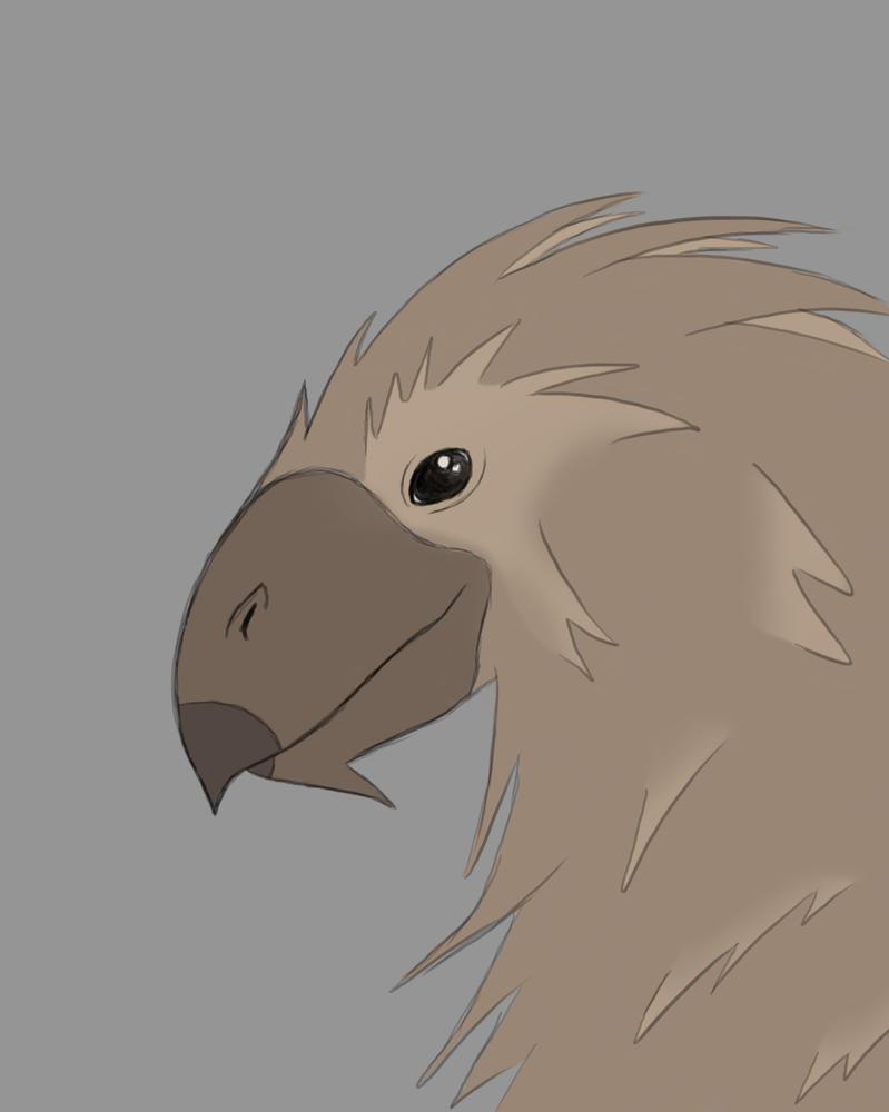 Bird Creature Daily sketch #523 by GothicVampireFreak