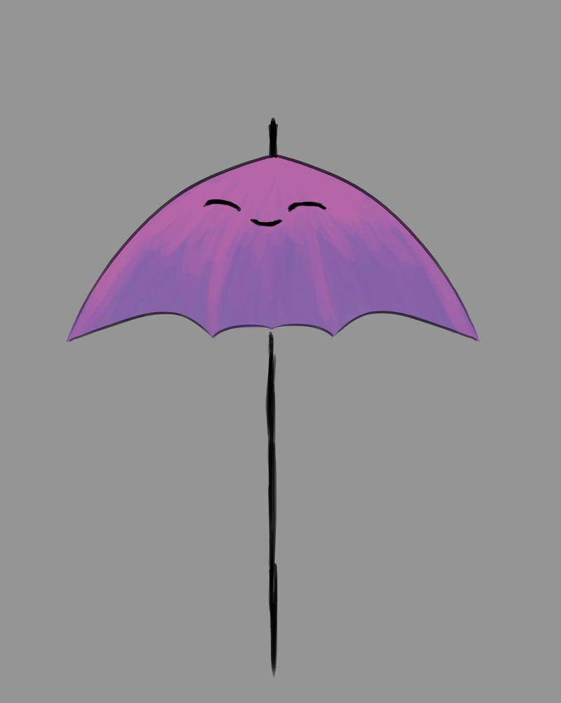 Umbrella Daily sketch #539 by GothicVampireFreak