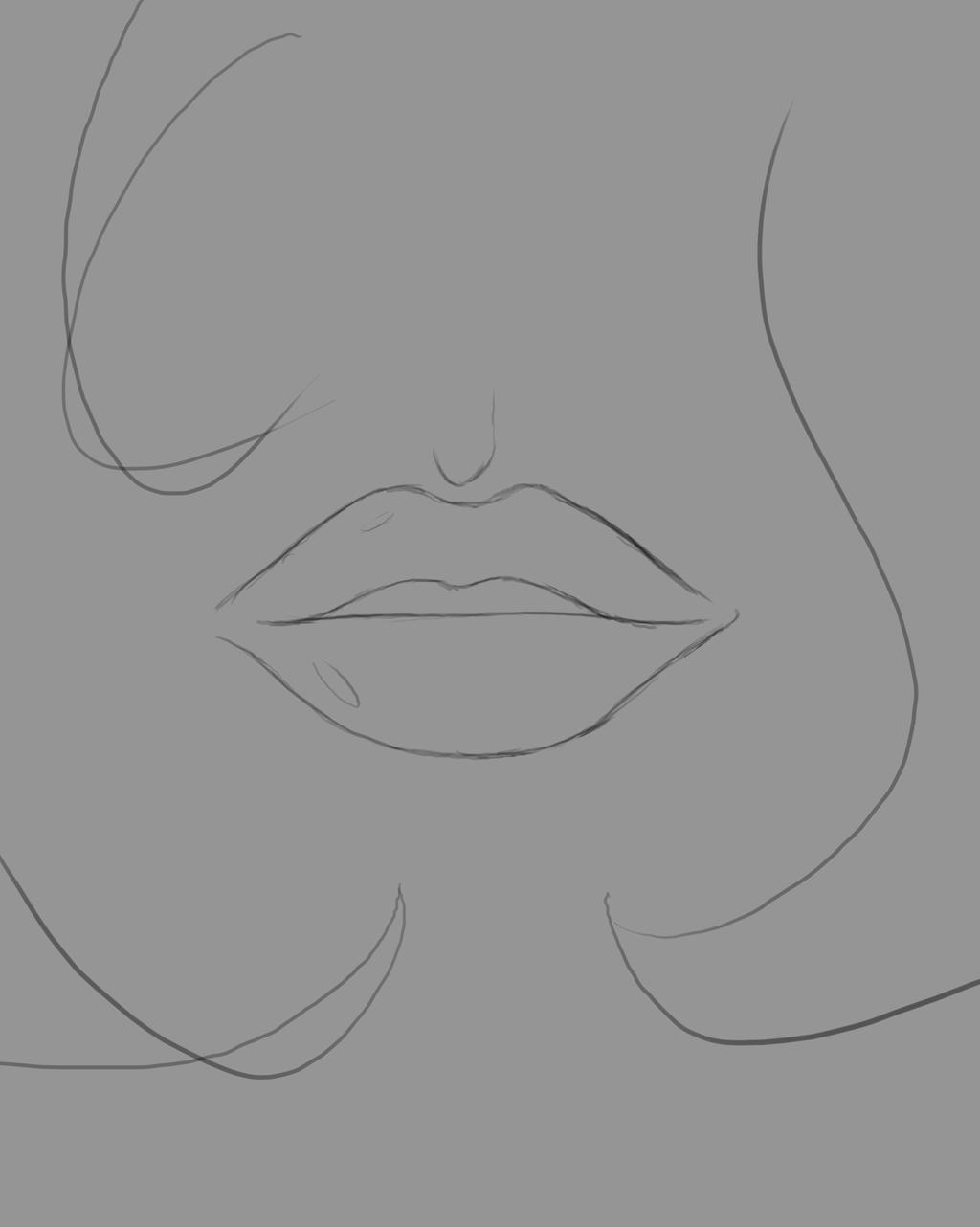 Mouth Daily sketch #544 by GothicVampireFreak
