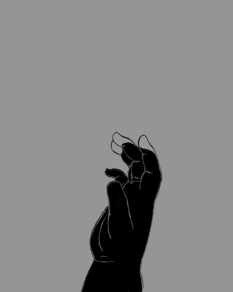 Baby Hand Daily sketch #545 by GothicVampireFreak