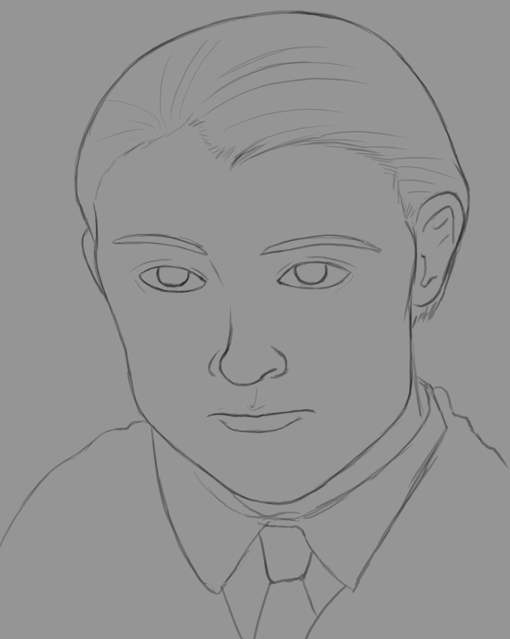 Draco Daily sketch #557 by GothicVampireFreak