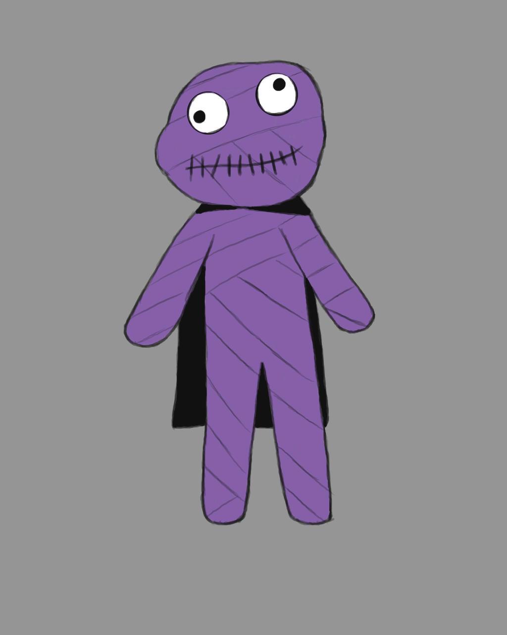 Voodoo Doll Daily sketch #565 by GothicVampireFreak